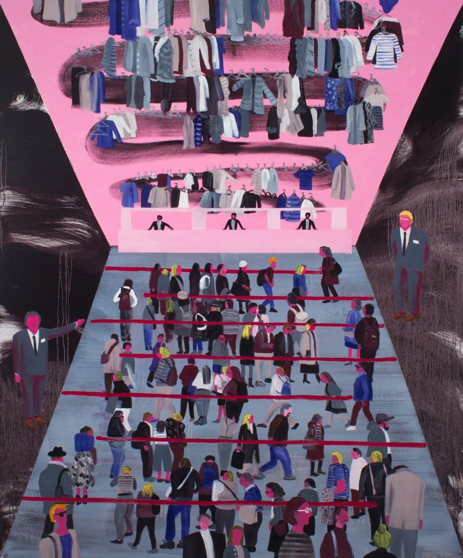 黃海欣_MoMA_2016_Oil on canvas_152 x 127 cm