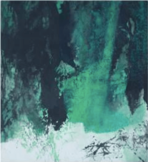 Fong Chung-Ray, 馮鍾睿,1973-81, 1973 75 x 68.6 x cm Acrylic on paper, Asia Art Center   Taipei, Beijing