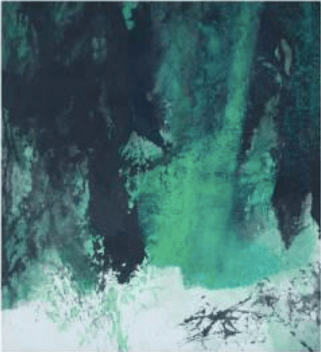 Fong Chung-Ray, 馮鍾睿,1973-81, 1973 75 x 68.6 x cm Acrylic on paper, Asia Art Center | Taipei, Beijing