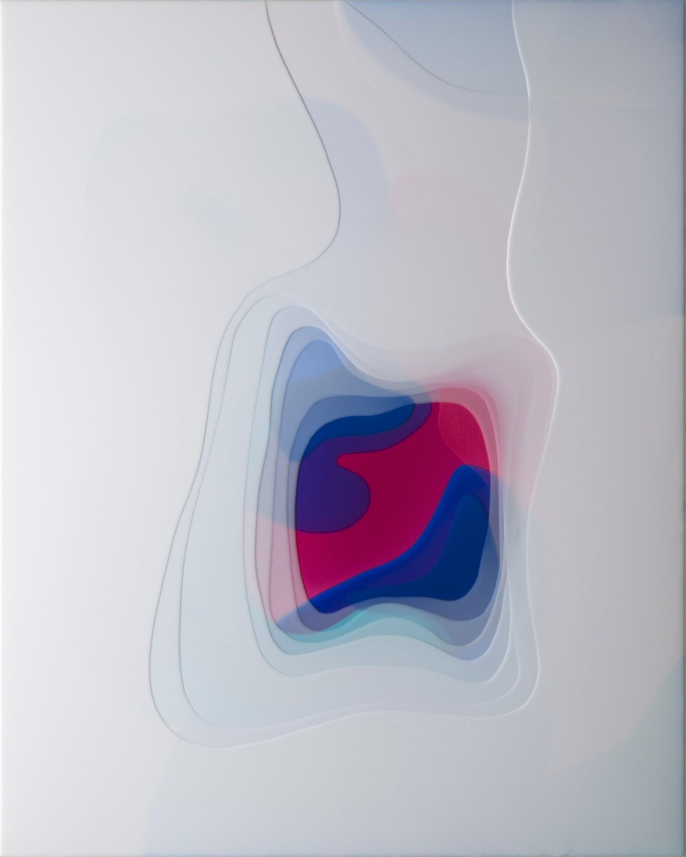 01.〈外生|Ecto〉,2018,環氧樹脂|epoxy,150 x 120 cm, 60 x 47 inches