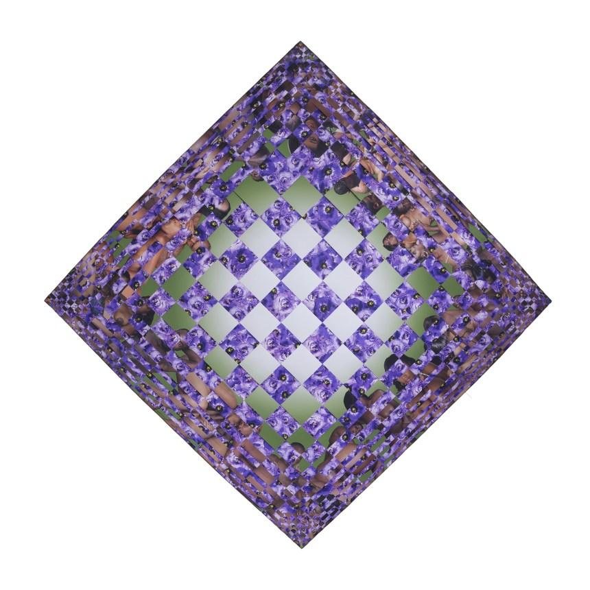 2. 黎光頂 Dinh Q. Lê, 'Untitled 2, Earthly Delights Series', , 107 x 107cm