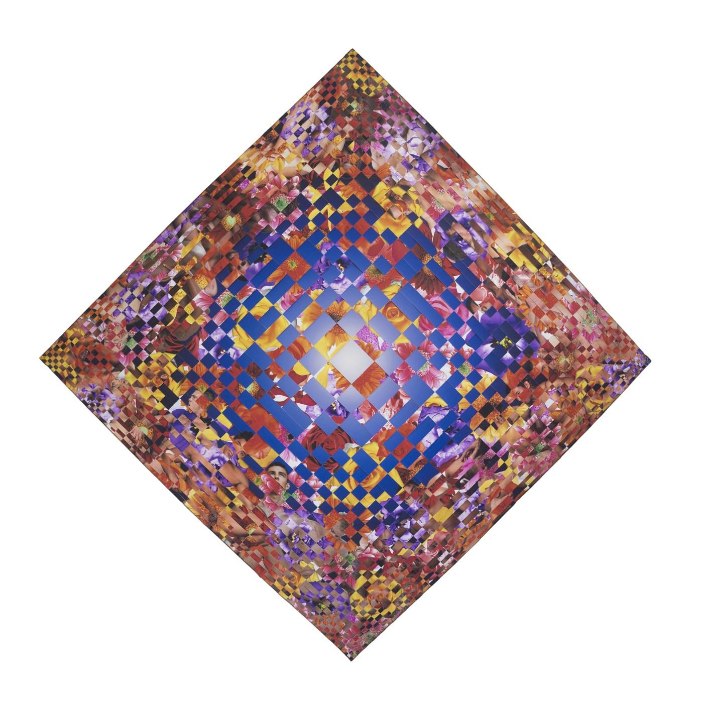 3. 黎光頂 Dinh Q. Lê, 'Untitled 3, Earthly Delights Series', 2018, , 107 x 107cm