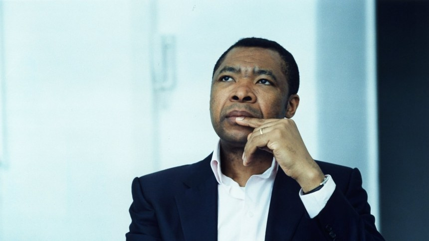 Okwui Enwezor, who passed away at age 55. Photo- Gerster:laif:Redux