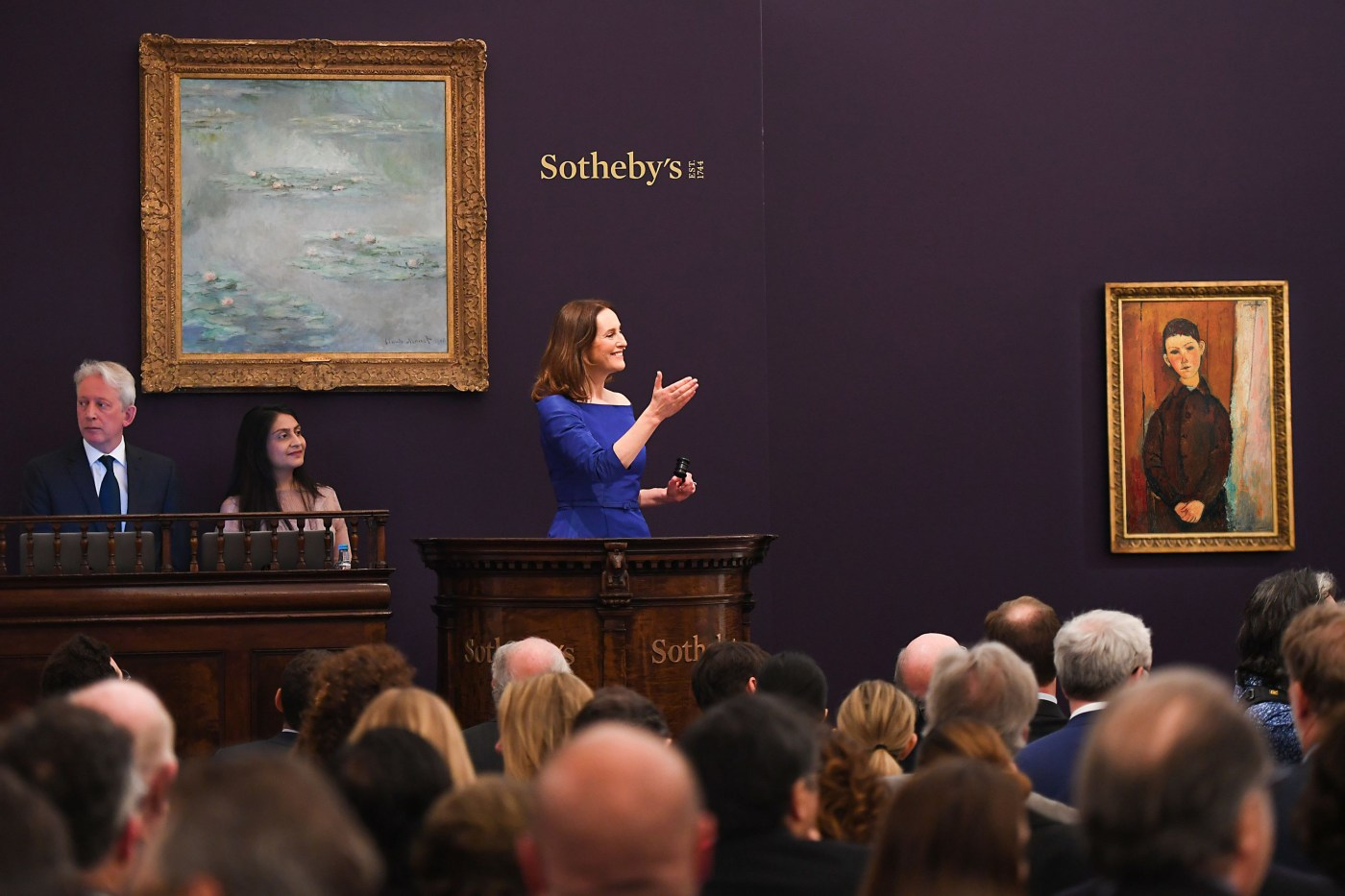 Sotheby's Impressionist Art Evening Auction