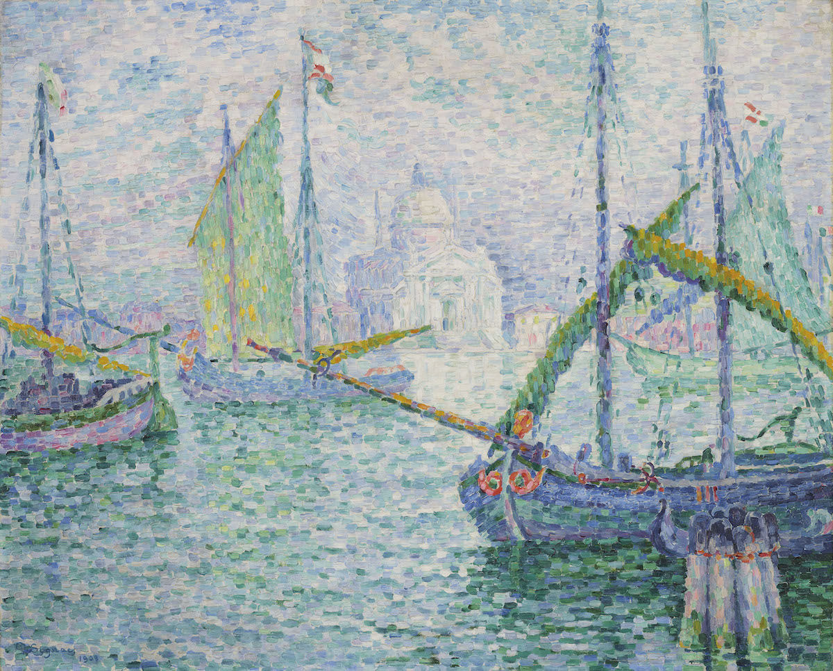 Paul Signac, Venise. Le Rédempteur, 1908. Est. £2.2 million–4 million, sold for £2,291,250. Courtesy Christie's Images Ltd. 2019..jpeg