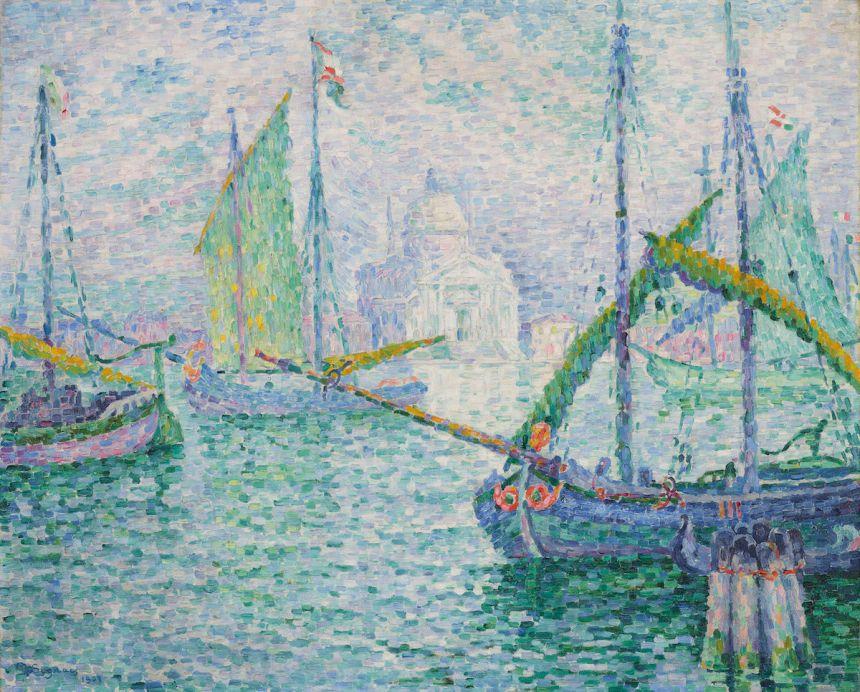 Paul Signac, Venise. Le Rédempteur, 1908. Est. £2.2 million–4 million, sold for £2,291,250. Courtesy Christie's Images Ltd. 2019..jpeg