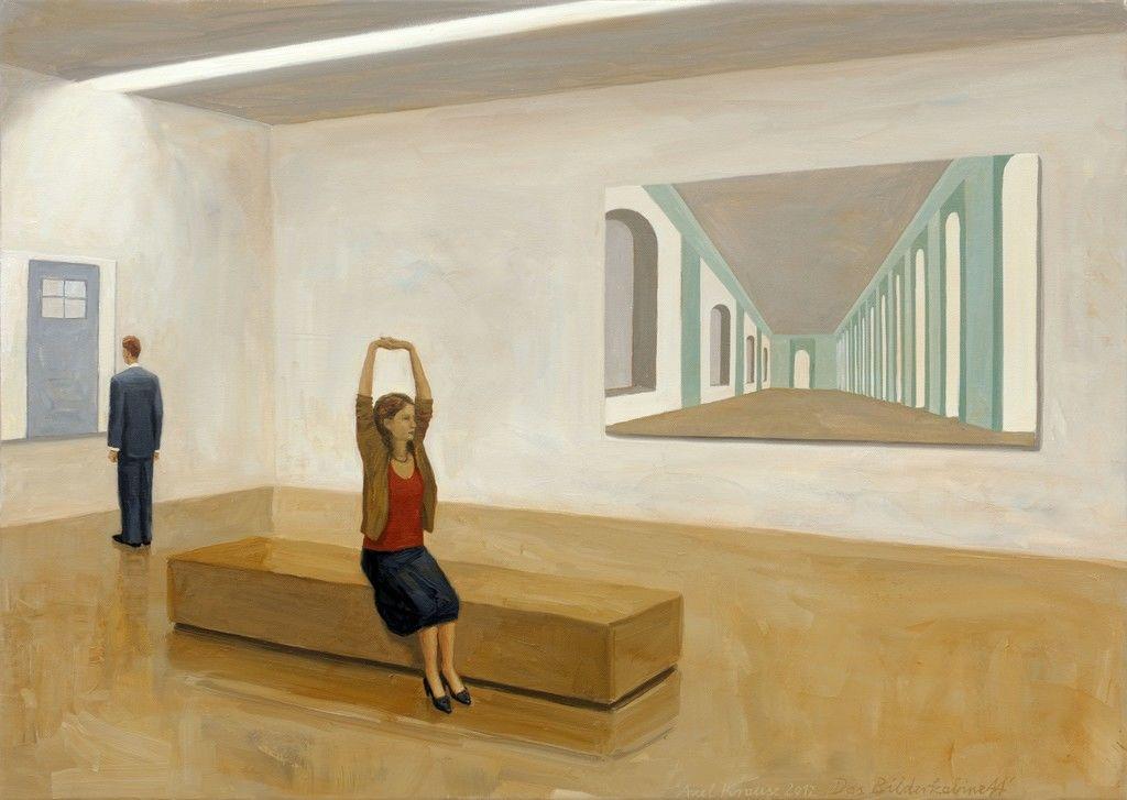 Axel Krause, Das Bilderkabinett, 2012 Gallery LVS