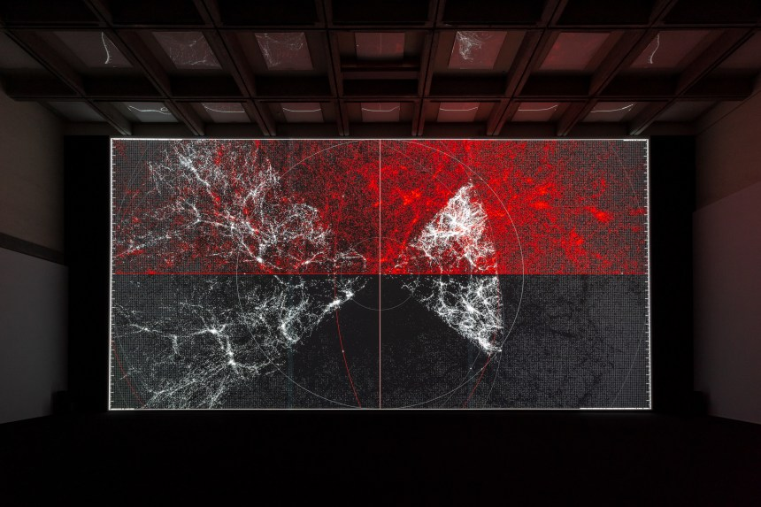 Ryoji Ikeda_the planck universe [macro] © Ryoji Ikeda _ Taipei Fine Arts Museum
