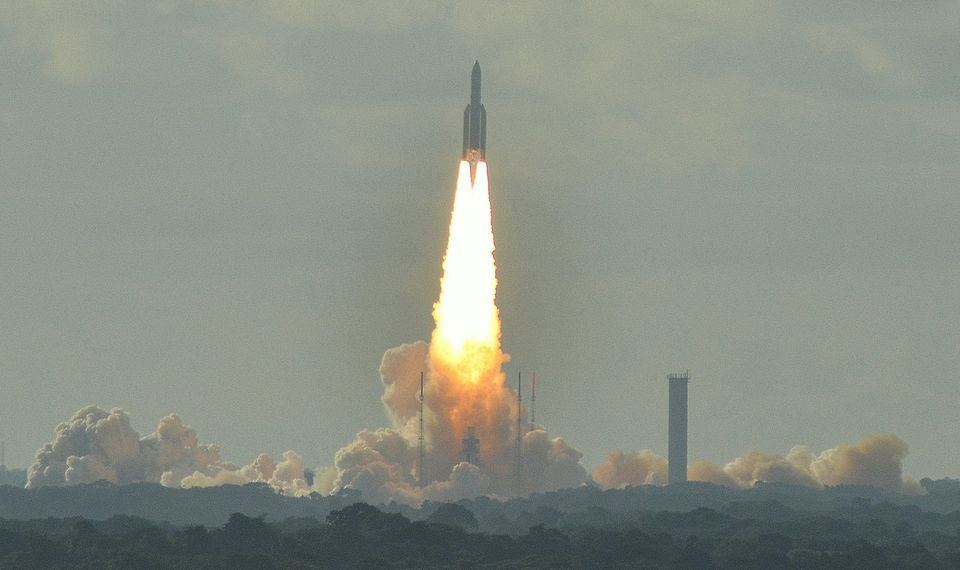 The work will be mounted on an Ariane 5 rocket