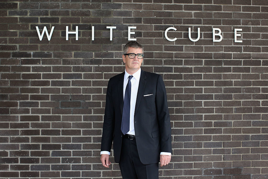 Jay Jopling, owner of White Cube. Photo by Oli Scarff/Getty Images.