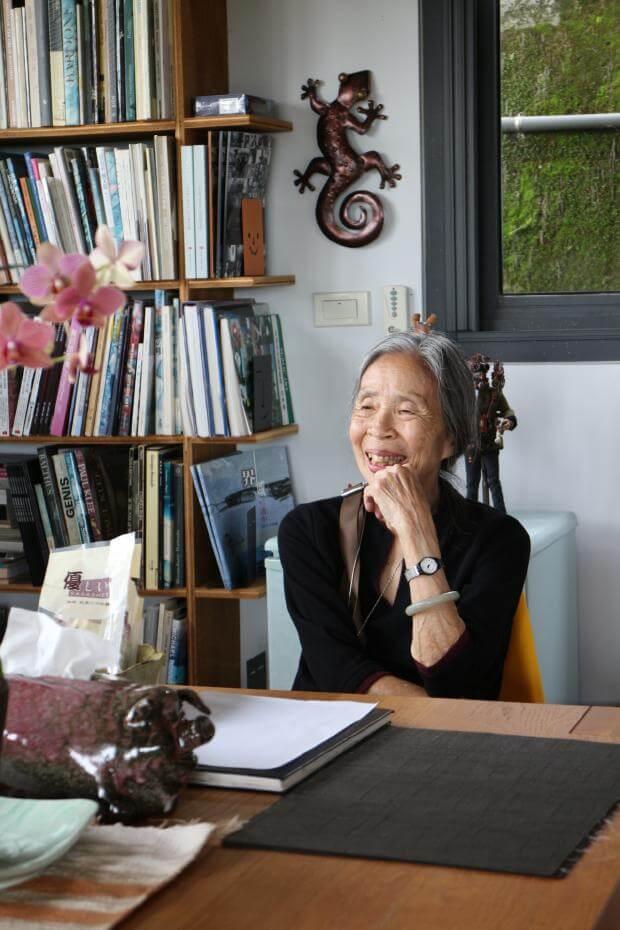 首位榮獲國家文藝獎的女性建築師王秋華。圖/國家文化藝術基金會提供
