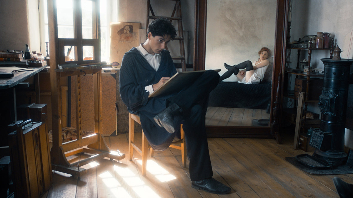 《席勒:死神與少女》電影劇照 圖/佳映娛樂 提供