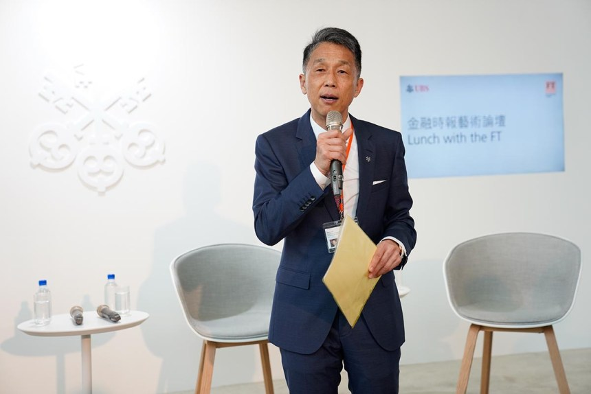 瑞銀集團台灣區總經理陳允懋(Dennis Chen)先生 Courtesy of UBS 圖片由瑞銀集團提供