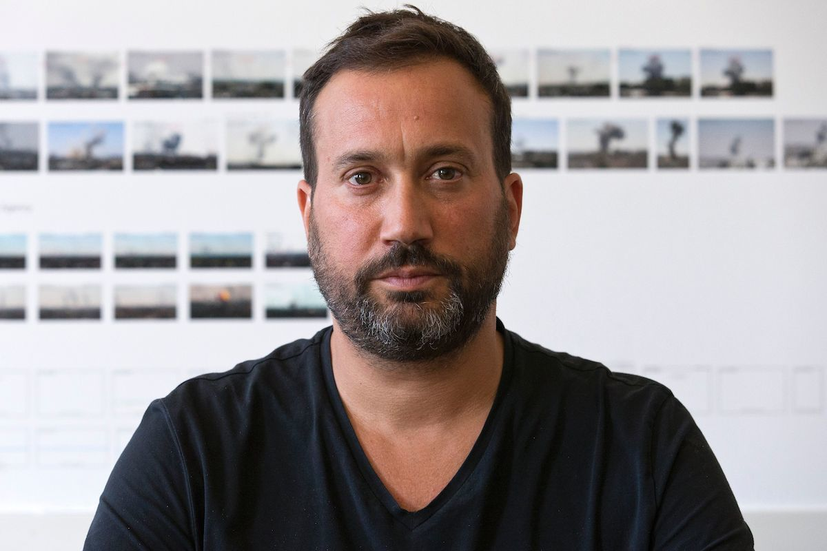 Forensic Architecture founder Eyal Weizman. Photo by Justin Tallis/AFP via Getty Images.