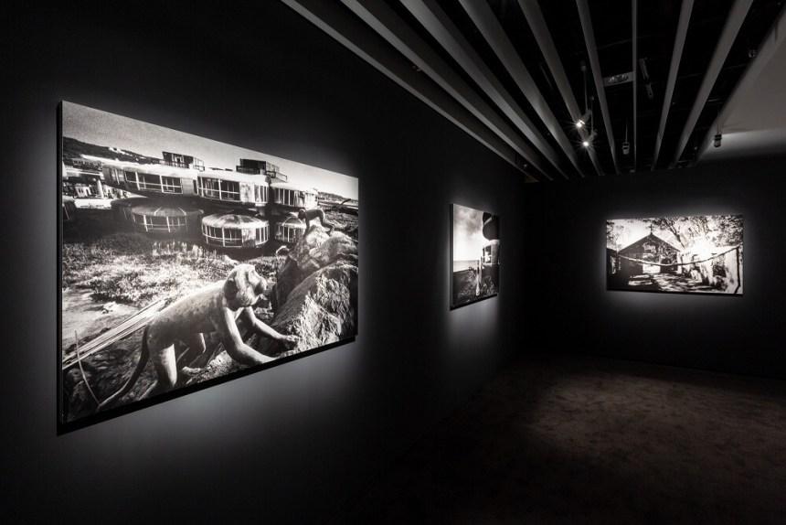 「失樂園 - 當代城市文明的凝視與寓意」展場。圖:忠泰美術館提供