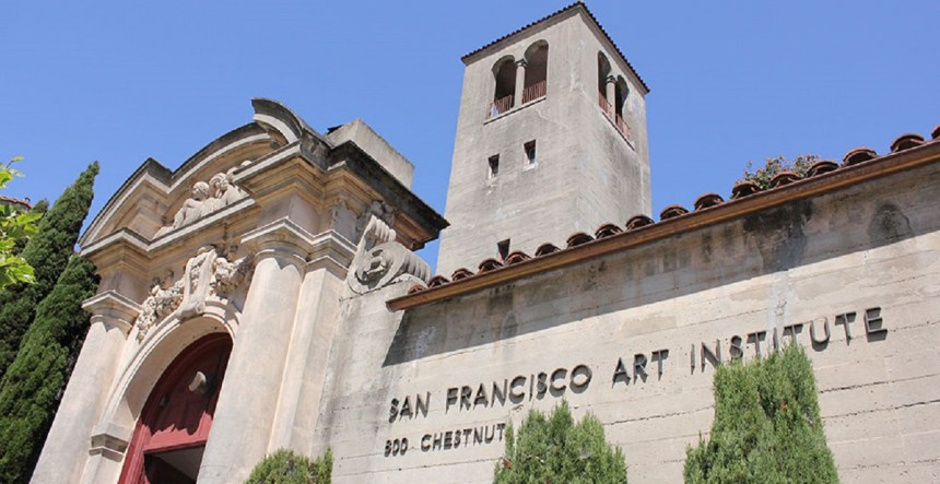 The San Francisco Art Institute. COURTESY SAN FRANCISCO ART INSTITUTE
