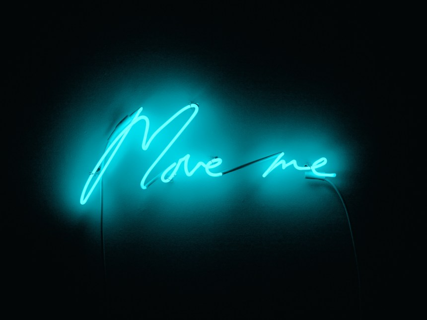 White Cube will present Tracey Emin's Move me, 2015, neon. © TRACEY EMIN. ALL RIGHTS RESERVED, DACS 2019/COURTESY WHITE CUBE