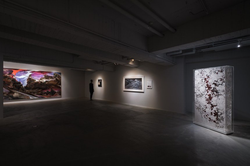 Installation View of Janus: ABHK Booth at MSAC, Courtesy of Mind Set Art Center