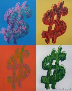 Andy Warhol $ (QUADRANT) FS II.284, 1982 Galler