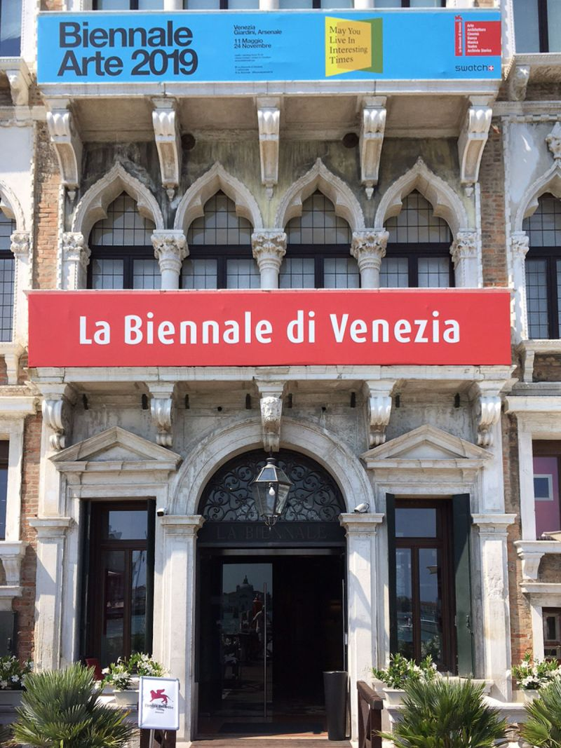 Part of the 2019 Venice Biennale. Photo by Naturpuur, via Wikimedia Commons.