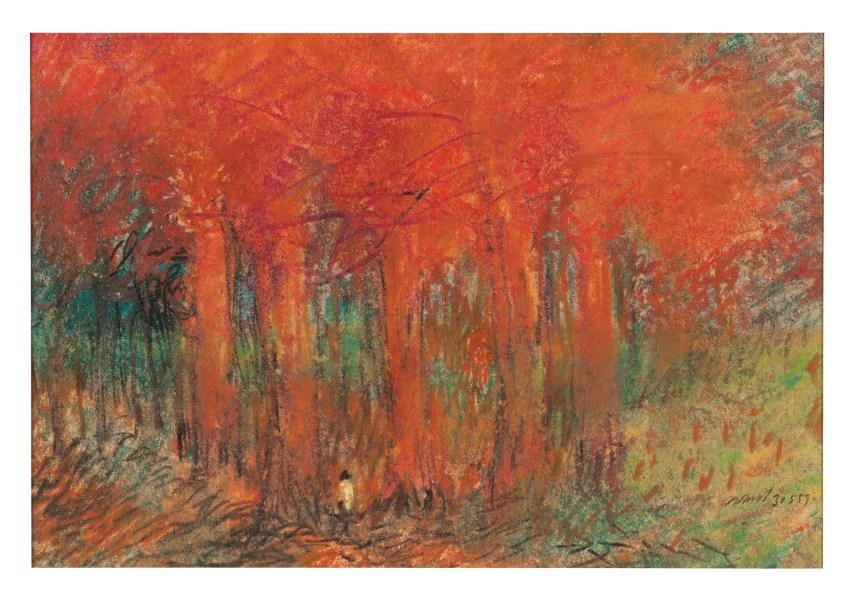 苟思(1913-1980),《無題》,1959年作, 此作將於2020年6月24至30日於「永恆熱忱:簡與基托·德·波爾伉儷珍藏網上拍賣」中呈獻