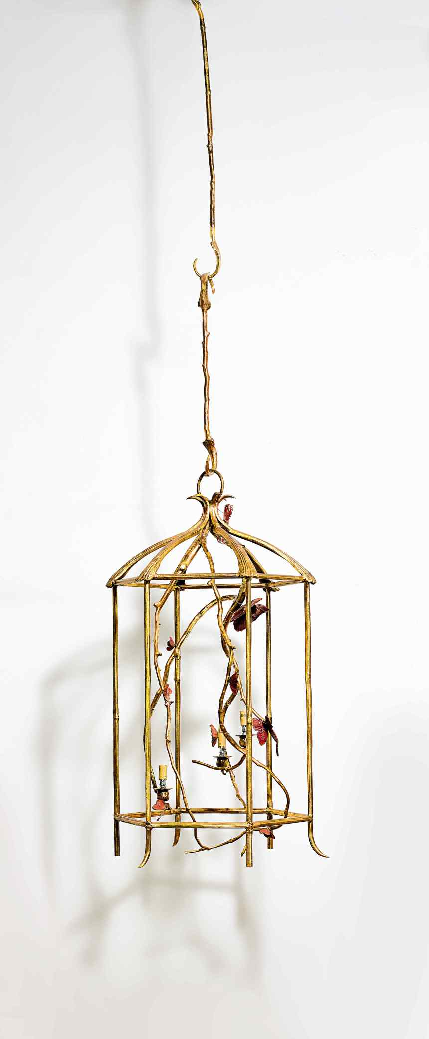 Claude Lalanne_Lantern With Butterflies Courtesy of Sotheby's