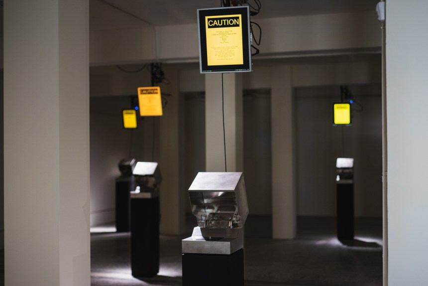 《Discharge what you charged》Installation View of 鄭先喻個展{同化者}, Courtesy of 空總臺灣當代文化實驗場(C-LAB)& 洪建全基金會