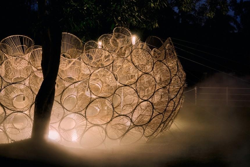 偶得設計作品《筌屋IV后里》, 2020 台灣燈會, Courtesy of 偶得設計