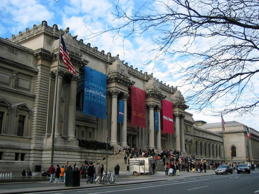 The Metropolitan Museum of Art. Image via Flickr.