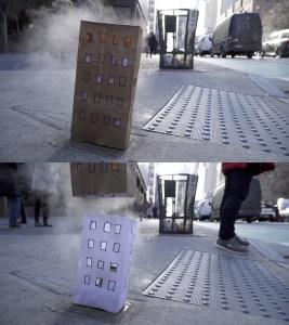 崔廣宇,《當代生活習作:紐約剪剪》, 2018, 約07分30秒循環放映, Courtesy of Double Square Gallery 双方藝廊