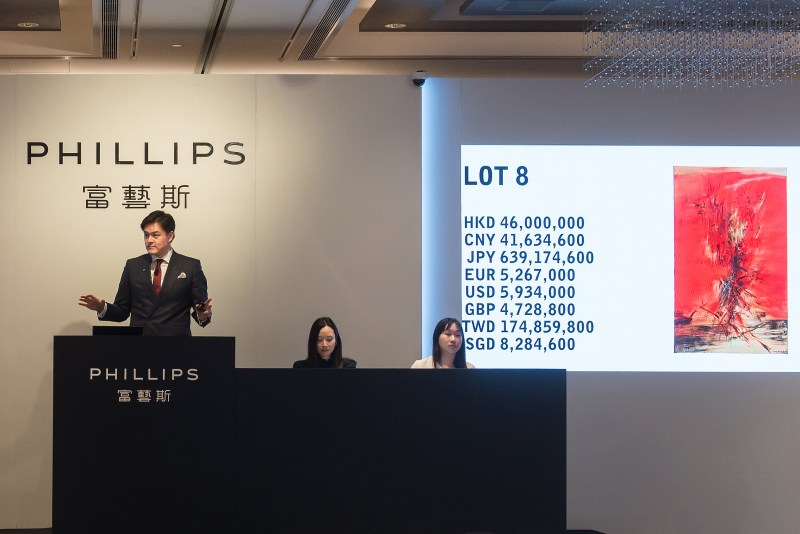 Phillips Hong Kong 20th Century and Contemporary Art Evening Sale_top lot_Courtesy of Phillips