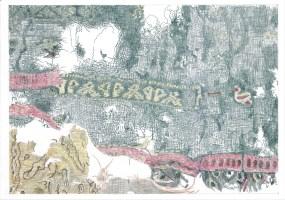 Juliane Laitzsch_Detail_of_a_fragment_03_2016 _鉛筆、色鉛筆、紙本_42x59.4cm, Courtesy of 本事藝術 Solid ArtJuliane Laitzsch_Detail_of_a_fragment_03_2016 _鉛筆、色鉛筆、紙本_42x59.4cm, Courtesy of 本事藝術 Solid Art