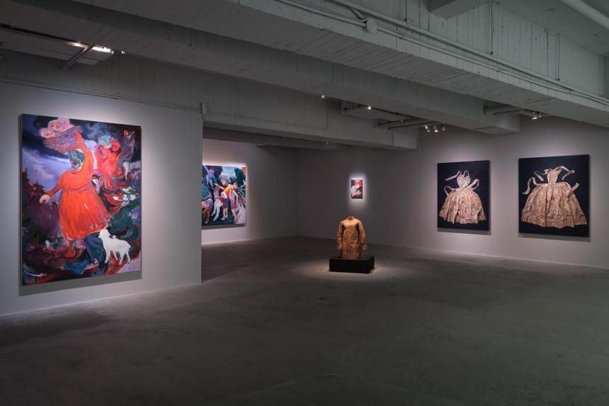 《重生:瑪莉娜‧克魯斯、傅饒、石晉華》, Courtesy of 安卓藝術 Mind Set Art Center