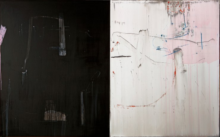 Lin Hong-Wen 林鴻文 Aether 20-15, 2020 Acrylic color 壓克力顏料 162 x 260 cm, Courtesy of 双方藝廊 Double Square Gallery