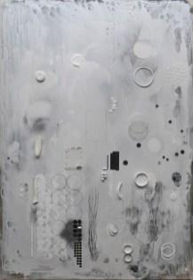 王為河 WANG Wei Ho, 《存在的奧秘》 The Mystery of Existence 2019 壓克力、畫布 Acrylic on canvas 130 x 90 cm, Courtesy of 安卓藝術 Mind Set Art Center
