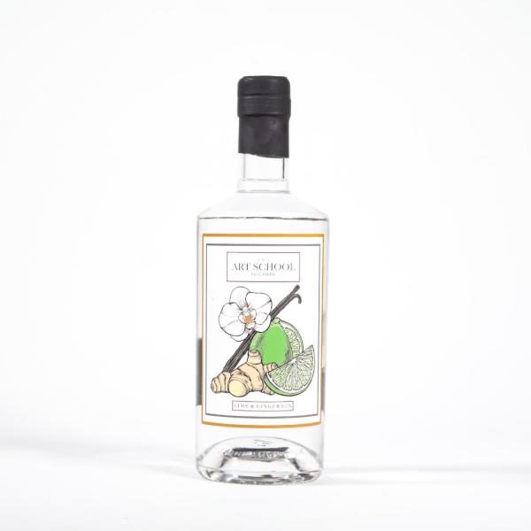 Lime & Ginger Gin Bottle