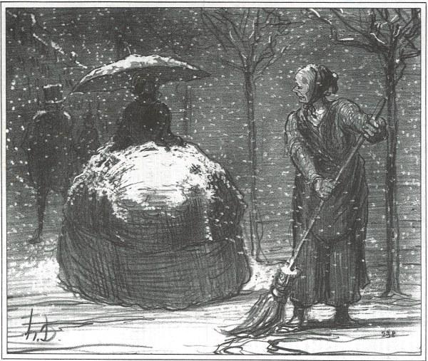 Honor Daumier And Paula Rego - Conversation