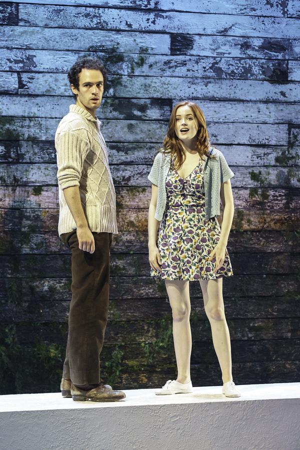 Ellie Bamber and Jonny Holden