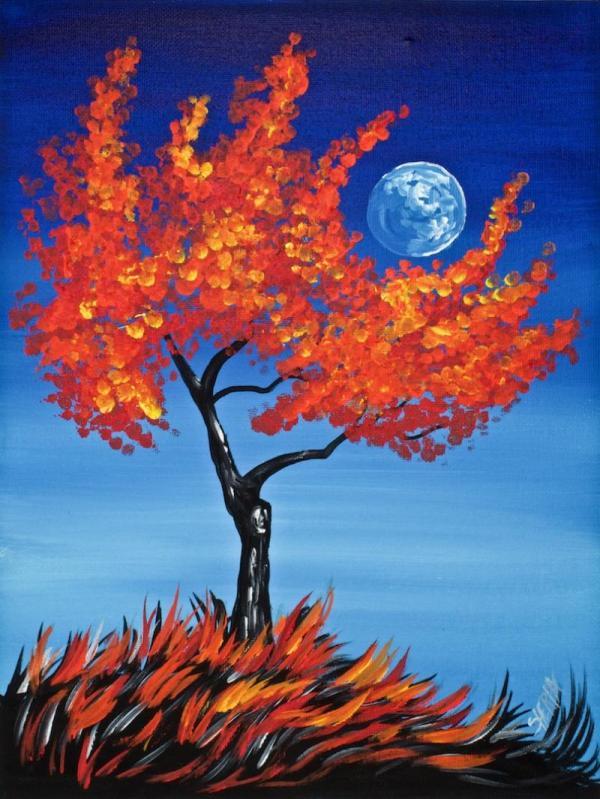 Amazingly Beautiful -tip Paintings In Acrylic Beginners Art Sherpa
