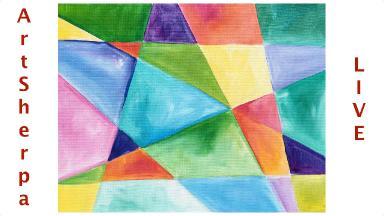 geometric beginner easy abstract