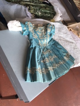 Victorian boys gown. Trowbridge Museum