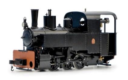 Decauville 0-6-0T Locomotive.