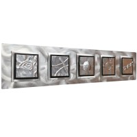 20 The Best Rectangular Metal Wall Art