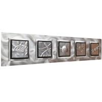 20 The Best Rectangular Metal Wall Art