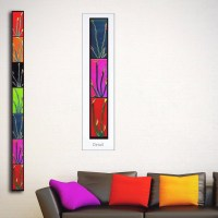 Long Narrow Wall Art | Zef Jam