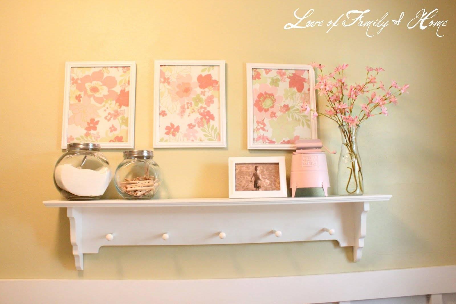 Laundry Room Wall Decor Art Ideas On Decorating Living Walls ...