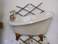 Bathroom Metal Art Decor - Bathroom Design