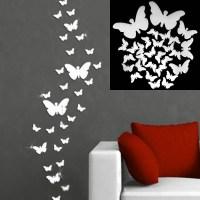 2018 Popular Diy 3D Wall Art Butterflies
