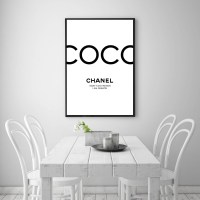 The Best Coco Chanel Quotes Framed Wall Art