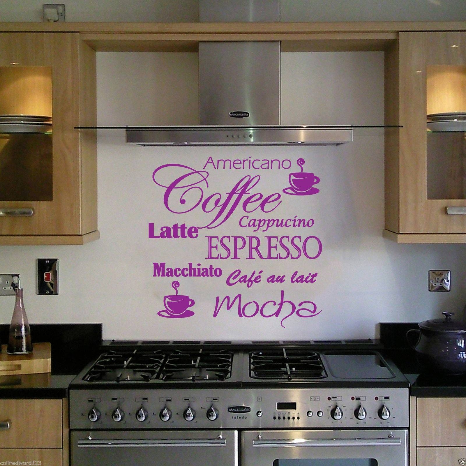 coffee decoration for kitchen undermount single bowl sink 30 best collection of cafe latte wall art